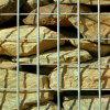 石の保護溶接されたGabionの網を制御しなさい