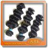 5A Matériaux Jet Black Cheveux brésiliens