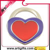 Percha de calidad superior del monedero de la dimensión de una variable del corazón