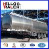 Tri asse 45000 litri dell'olio della benzina del combustibile di alluminio di rimorchio liquido dell'autocisterna