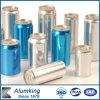 O revestimento de metal pequeno da lata de estanho do metal pode pratear em volta das latas de alumínio vazias