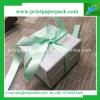 리본을%s 가진 마분지 선물 상자 판지 선물 상자