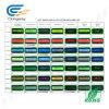 Größe PFEILER 240*64 Punkt-gelbgrüne Hintergrundbeleuchtung-Bildschirmanzeige anpassen