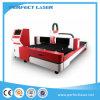 Máquina de estaca de alta velocidade do laser da fibra do metal 500W