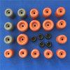 Farbiger Silikon-runder Tür-Anschlagpuffer geformter Gummitür-Stopper