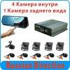 4CH 720p HD 3G Mdvr Ahd móvel Mdvr suporta 3G GPS/WiFi