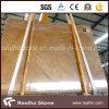 Possedere la lastra di marmo gialla imperiale Polished della cava per le mattonelle del pavimento e della parete dell'ingresso