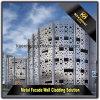 Los paneles de pared perforada de aluminio revestidos del polvo exterior para la decoración