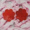 セクシーな女性装飾的で再使用可能な胸の花弁のシリコーンのニップルカバー