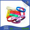 Wristbands promocionales del silicón de la manera de encargo para el acontecimiento