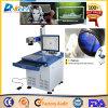 Máquina do cristal da marcação do CNC do marcador do laser da fibra do metalóide de China