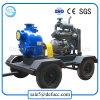 디젤 엔진 비 막는 하수 오물 또는 쓰레기 원심 펌프를 뇌관을 달아 각자