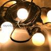 屋内装飾E27 LEDストリングは45mmの電球ライトをつける