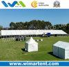шатер 15X80m напольный с ясной стеной PVC