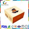 Cake Box rígida de cartón de papel con manija