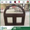 ビニールのプロフィールの木製の開き窓Windows、PVC Windowsおよびドア