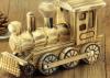 Modelos hechos a mano hermosos de madera de los coches