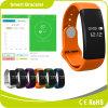 Relógio de pulso impermeável de Bluetooth do monitor do sono do podómetro do monitor da frequência cardíaca