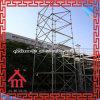 Andamio usado ERW de la construcción hecho en la torre de China Ringlock