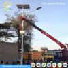 8m 60W conservam a luz de rua solar da energia