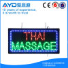 Sinal tailandês do diodo emissor de luz da massagem da baixa tensão do retângulo de Hidly