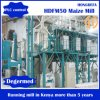 Máquina de moedura Turnkey dos grãos de milho da farinha de milho do projeto