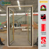UPVC tedesco Profile Double Glazed Swing Doors con Different Colors
