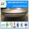 管端の保護装置によって皿に盛られる楕円のヘッドエンド