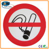 Het Weerspiegelende Waarschuwingssein Nr van de douane - het roken/van het Gevaar Teken