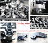 Carcaça Steel Parte para Can Welding Casting Materials