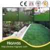 Grama artificial ajardinando natural da grama para o jardim