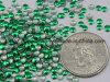 工場エメラルドのNailheadの金属の宝石の円形の熱い苦境のスタッド(HF nailhead/3mm)