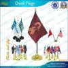 Economia Abitudine-fatta 14X21cm Plastic Desk Flag (A-NF09P04016)