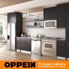 Armário de cozinha de madeira do revestimento da melamina de Oppein (OP15-M12)