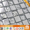 Plata Brillante Color Interior decoración de la pared de cristal del mosaico (G658009)