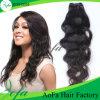 Extensão natural por atacado do cabelo humano do cabelo do Virgin da onda do preço de fábrica