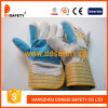 牛分割された手袋を熱販売する、皮手袋(DLC323)