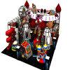 Cour de jeu d'aventure de l'espace de vente directe d'usine