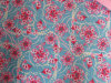 옥스포드 600d Flowers Printing Polyester Fabric (DS1134 & 1135년)