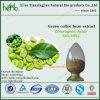 Acidi clorogenici 50%, polvere verde dell'estratto del chicco di caffè