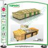 Стойка индикации супер рынка деревянная для фрукт и овощ