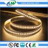 204LEDs/M SMD3014 scaldano l'indicatore luminoso di striscia bianco del LED