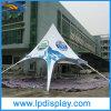Tenda esterna dei Pali di modo della stella della visualizzazione su ordinazione di alluminio della tenda