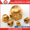 M12 DIN1587 Brass Hexagon Domed Cap Nut