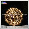 Warme runde Kugel-Weihnachtslichter des Weiß-LED für Park