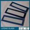 3-10mm moderou o vidro do painel da impressão da tela de seda para a porta do forno