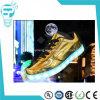 Las luces LED de la venta caliente forma la luz que destella LED Zapatos