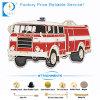 Distintivo di Pin del veicolo di lotta antincendio nel colore rosso come ricordo