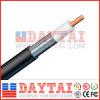 Câble coaxial de liaison de Resitance Jca CATV Qr412 de la chaleur