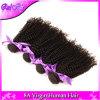 人間の毛髪4束のブラジルのねじれた巻き毛のバージンの毛のアフリカのねじれたカーリーヘアー7Aのブラジルのねじれた巻き毛の織り方の